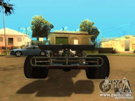 Fast & Furious 6 Flipper Car for GTA San Andreas side view