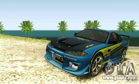 Nissan Silvia S15 for GTA San Andreas side view