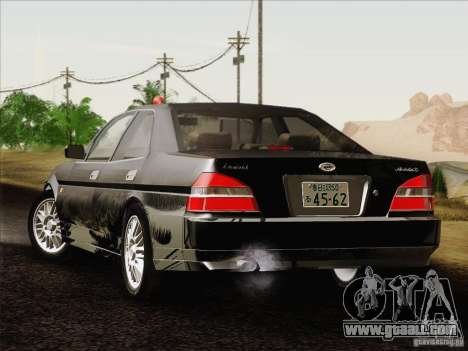 Nissan Laurel GC35 Kouki Unmarked Police Car for GTA San Andreas left view