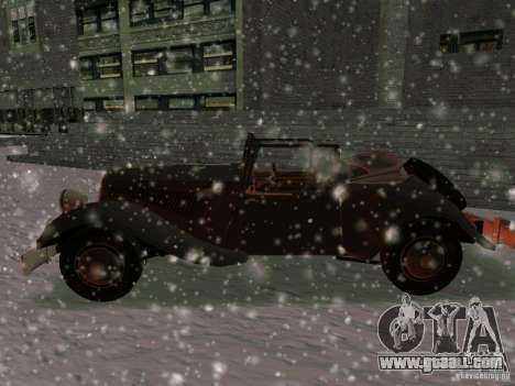 Auto game Sabotage for GTA San Andreas left view