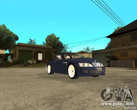 BMW Z3 Roadster for GTA San Andreas right view