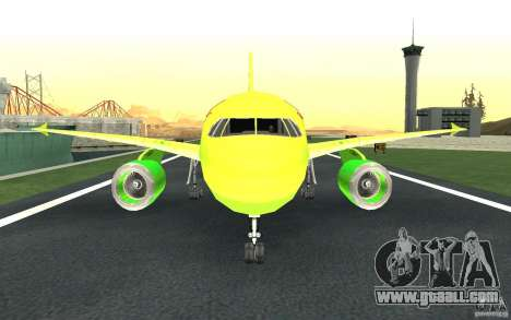 Airbus A310 S7 Airlines for GTA San Andreas upper view