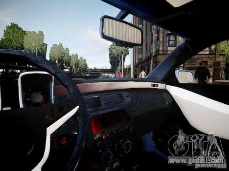 Chevrolet Camaro ZL1 for GTA 4 back view