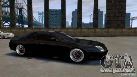 Honda Prelude SiR VERTICAL Lambo Door Kit Carbon for GTA 4 right view