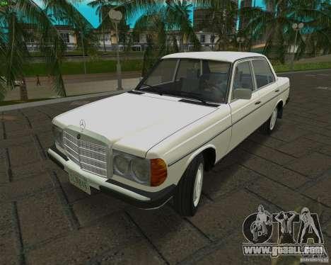 Mercedes-Benz 230 1976 for GTA Vice City