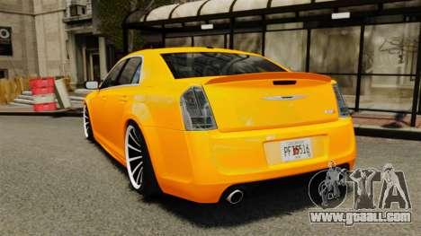 Chrysler 300 SRT8 LX 2012 for GTA 4 back left view