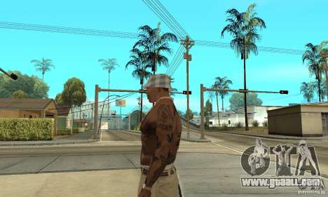 Tattoo mod for GTA San Andreas second screenshot