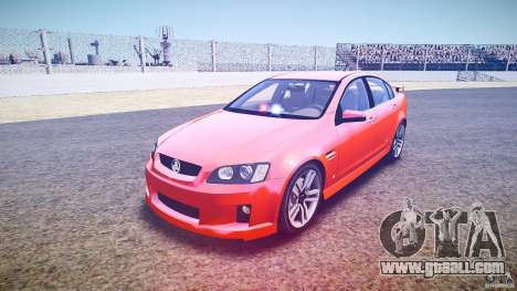 Holden Commodore SS (FBINOoSE) for GTA 4 back view