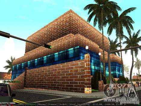 The new hospital in Los Santos for GTA San Andreas second screenshot