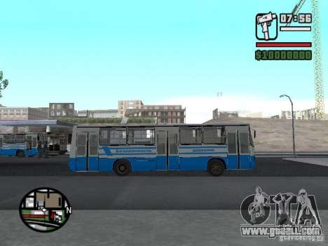 Ikarus 260 safety for GTA San Andreas left view