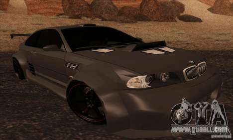BMW M3 for GTA San Andreas side view