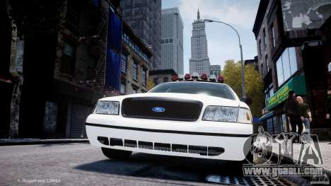 Ford Crown Victoria New Jersey State Police for GTA 4 wheels