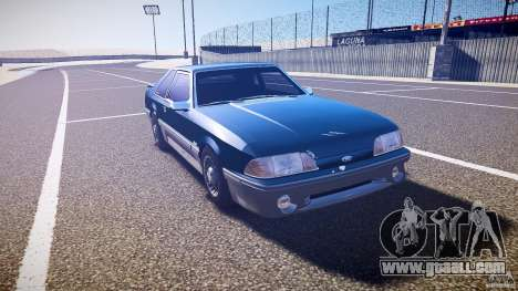 Ford Mustang GT 1993 Rims 1 for GTA 4 back view
