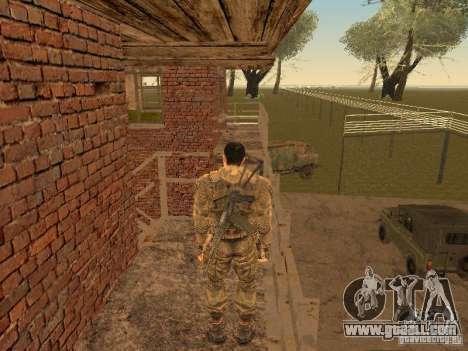 Degtyarev of Stalker for GTA San Andreas forth screenshot