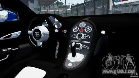 Bugatti Veyron 16.4 v1.0 wheel 2 for GTA 4 inner view