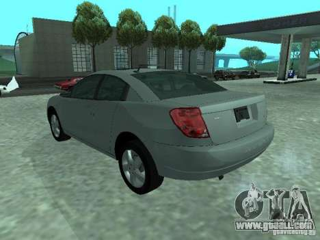Saturn Ion Quad Coupe 2004 for GTA San Andreas left view