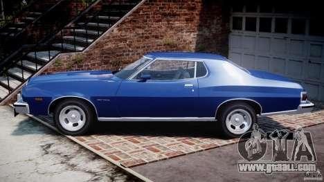 Ford Gran Torino 1975 for GTA 4 left view