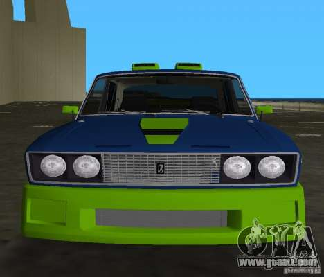 VAZ 2106 Tuning v3.0 for GTA Vice City left view