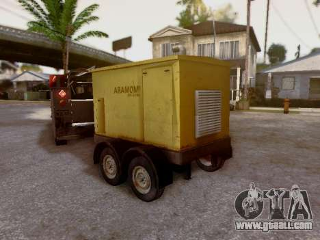Trailer Generator for GTA San Andreas inner view