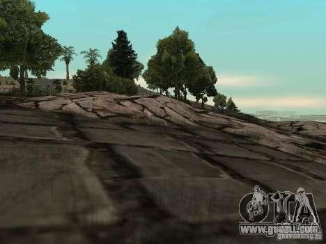 Stone Mountain for GTA San Andreas second screenshot
