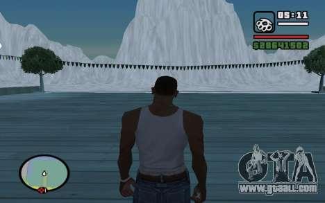 Mountain map for GTA San Andreas second screenshot