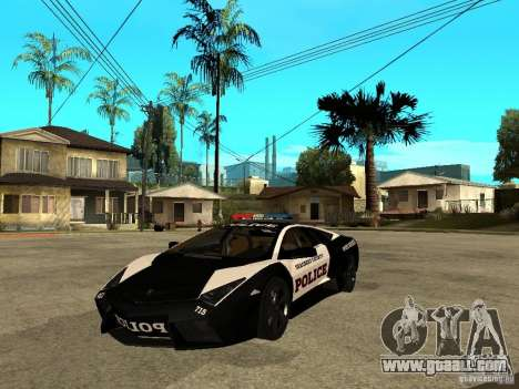 Lamborghini Reventon The Speed Enforcer for GTA San Andreas