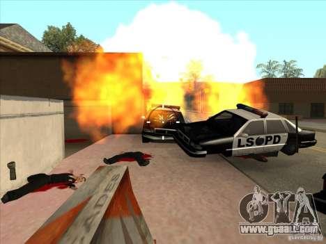 The CLEO script: machine gun in GTA San Andreas for GTA San Andreas