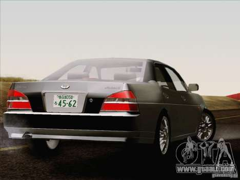 Nissan Laurel GC35 Kouki Unmarked Police Car for GTA San Andreas back left view