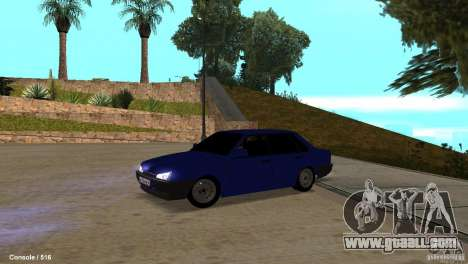 BAZ 21099 for GTA San Andreas left view