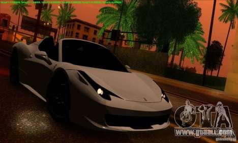 SA_gline 4.0 for GTA San Andreas forth screenshot