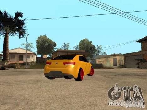Kia Cerato Coupe JDM for GTA San Andreas left view
