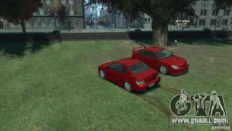 Subaru Impreza WRX STI for GTA 4 left view