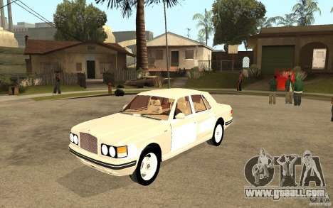 Bentley Turbo RT for GTA San Andreas