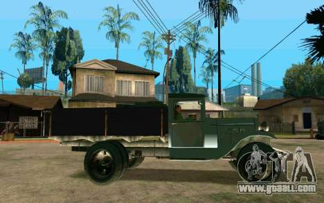 GAZ AA for GTA San Andreas left view