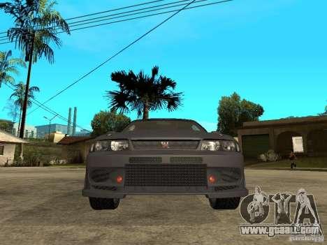 Nissan Skyline R33 Tokyo Drift for GTA San Andreas right view