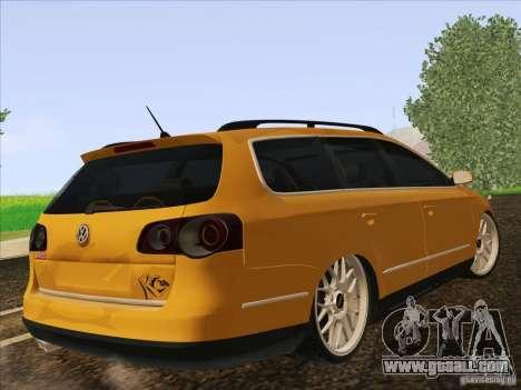 Volkswagen Passat B6 Variant for GTA San Andreas right view