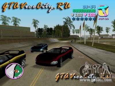 INFERNUS from GTA 3 for GTA Vice City
