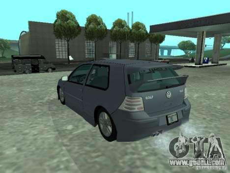 Volkswagen Golf IV for GTA San Andreas side view