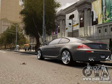 BMW M6 2010 for GTA 4 right view