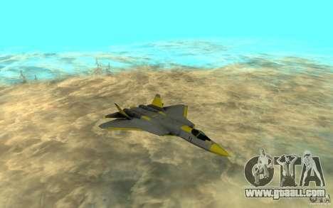 Su Pak-Fa t-50 for GTA San Andreas