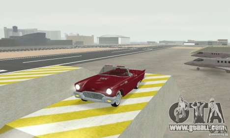 Ford Thunderbird 1957 for GTA San Andreas left view