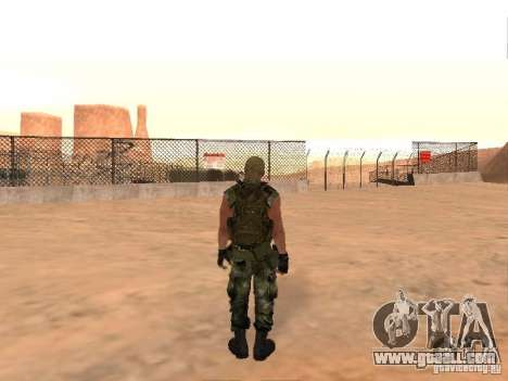 Russian Commando for GTA San Andreas forth screenshot