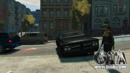 Slamvan for GTA 4 back view
