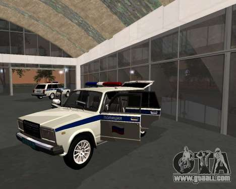 VAZ 21047 Police for GTA San Andreas