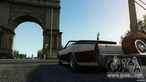 Buccaneer Final for GTA 4 inner view
