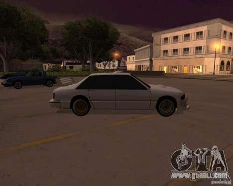Taxi for GTA San Andreas left view