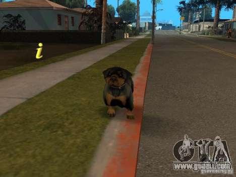 Animals for GTA San Andreas forth screenshot