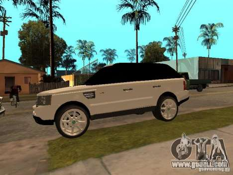 Range Rover Sport for GTA San Andreas right view