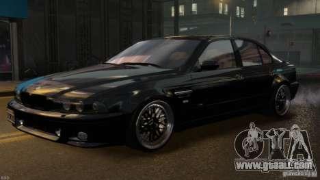 BMW M5 E39 BBC v1.0 for GTA 4 bottom view