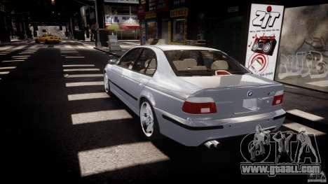 BMW M5 E39 Stock 2003 v3.0 for GTA 4 back left view
